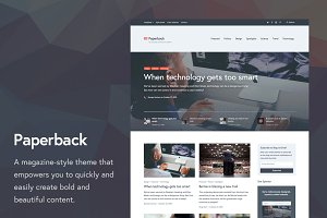 Paperback WordPress Theme