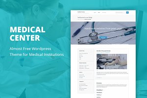 Medical Center - Wordpress Theme