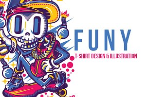 F U N Y Illustration