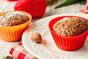 Sweet cupcake dessert