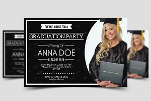 Simple Graduation Invitation