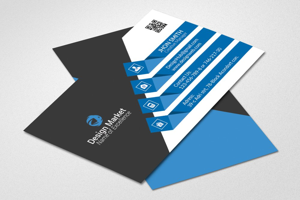 Stylish Vectored Business Card