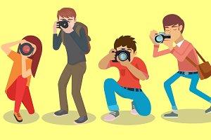 Photographer character set
