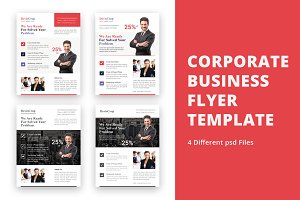 4 Corporate Business Flyer