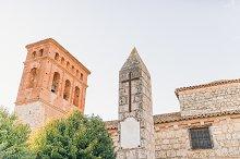 Villagarcia de Campos Church, Castilla y leon, Spain