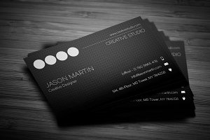 Creative Employee Business Card