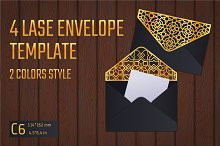 Lace Envelope Template