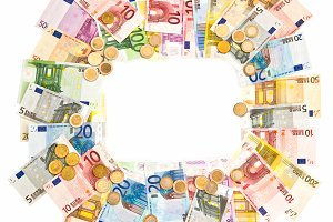 Euro currency frame