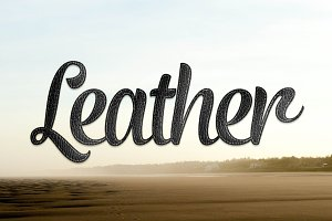 Leather Photoshop Layer Styles