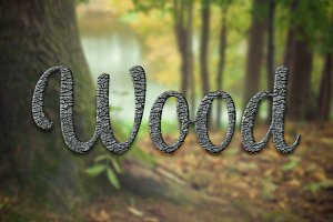 Wood Layer Styles & Text Effects