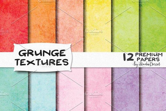 Grunge Textures - Digital Papers