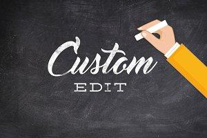 Custom Edit