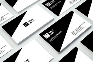 White Clean Minimal Business Card 3