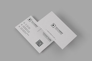 Gray Minimal Business Card