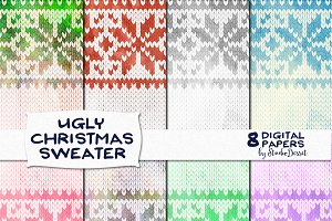 Ugly Christmas Sweater - Papers Pack