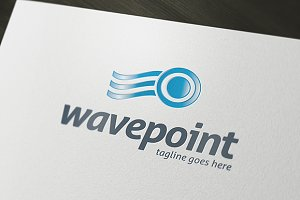 Wave Point Logo Template
