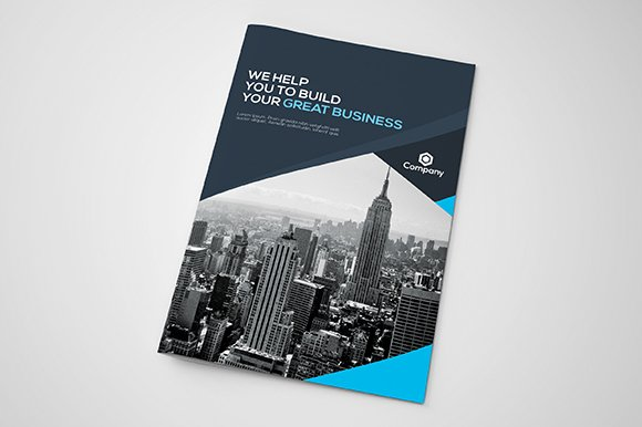 corporate bi fold brochure brochure templates creative market