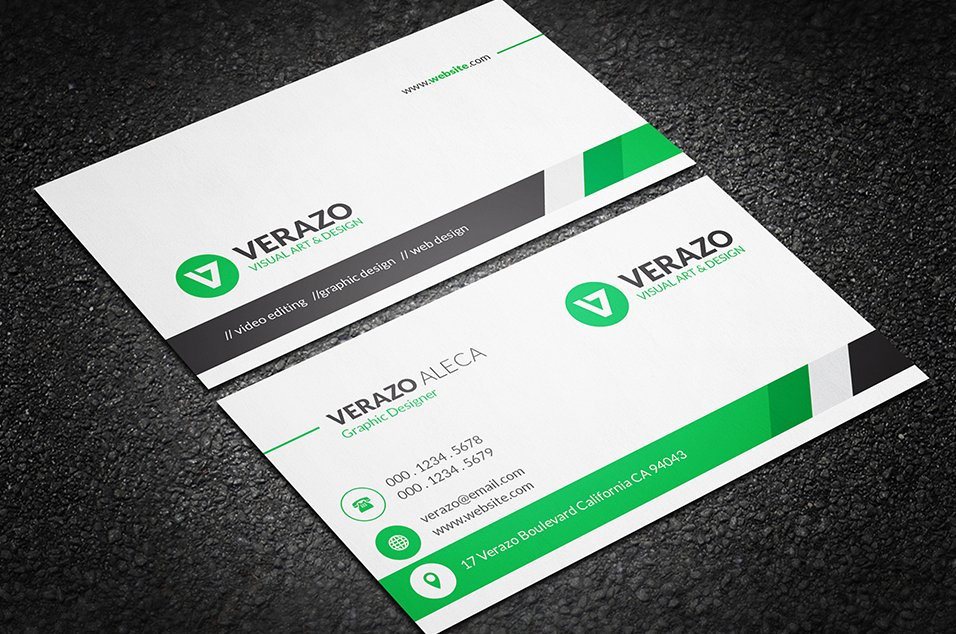 Clean professional business card business card templates clean professional business card business card templates creative market cheaphphosting Gallery