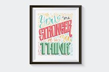 Inspirational and motivation poster