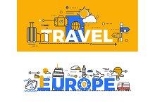 Travel Europe Design