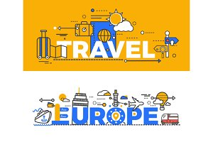 Travel Europe Design