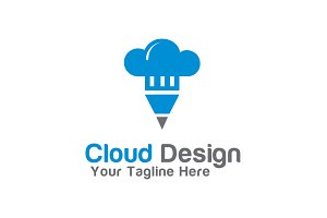 Cloud Design Logo Template