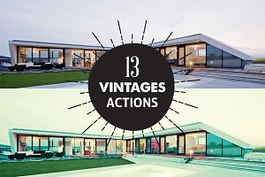 13 Vintage Photoshop Actions