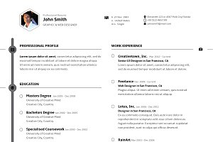 SS Professional resume