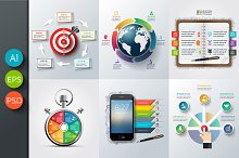 Business infographic templates v3