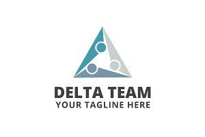 Delta Team Logo Template
