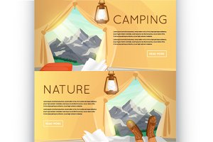 Camping, hiking equipment