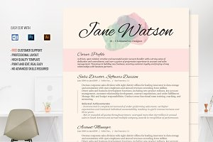 Resume Template CV Kiania
