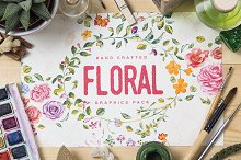 Floral Graphics Pack