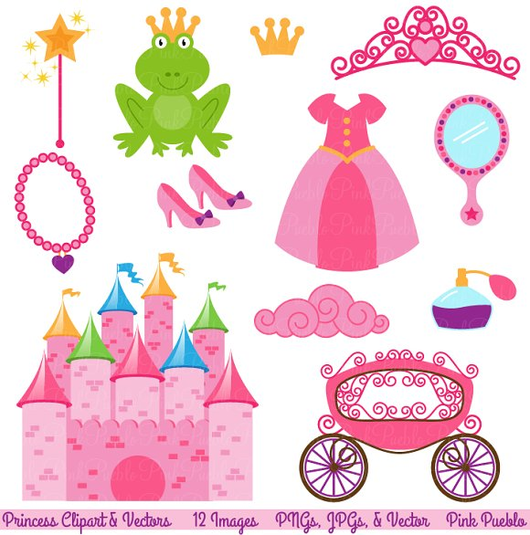 Fairytale Clipart and Vectors ~ Illustrations on Creative Market