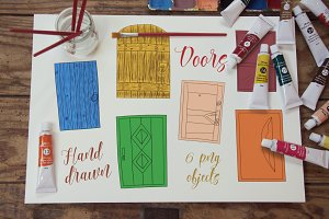 Hand Drawn Doors