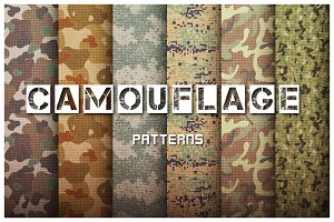 Camouflage Pattern Set