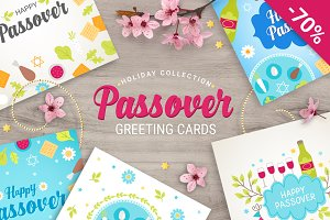 8 Passover Greeting Cards