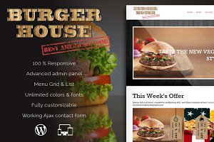 Burgerhouse - Restaurant & Pub Theme