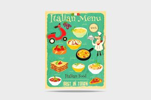Italian Food Menu