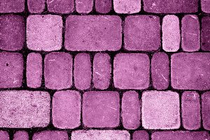 Texture of glamour pink stones