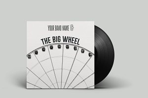 The Big Wheel - Vinyl Cover