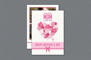 Happy Mother's Day Card - V254