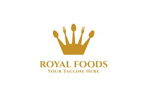 Royal Foods Logo Template