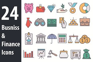 Busniss and Finance Icons