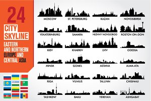 City skyline Europe and Central Asia