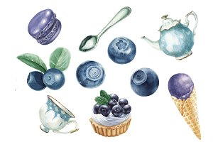 Blueberry delicious collection