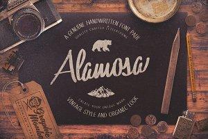 Alamosa - Handwritten Font Pair