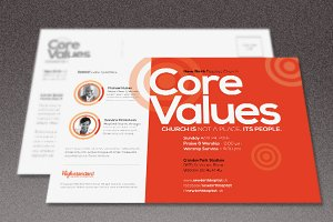 Core Church Flyer Template