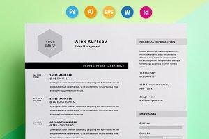 "Resume / CV - ""Alex"""