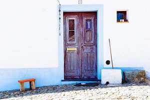 Traditional house, Mértola, Portugal